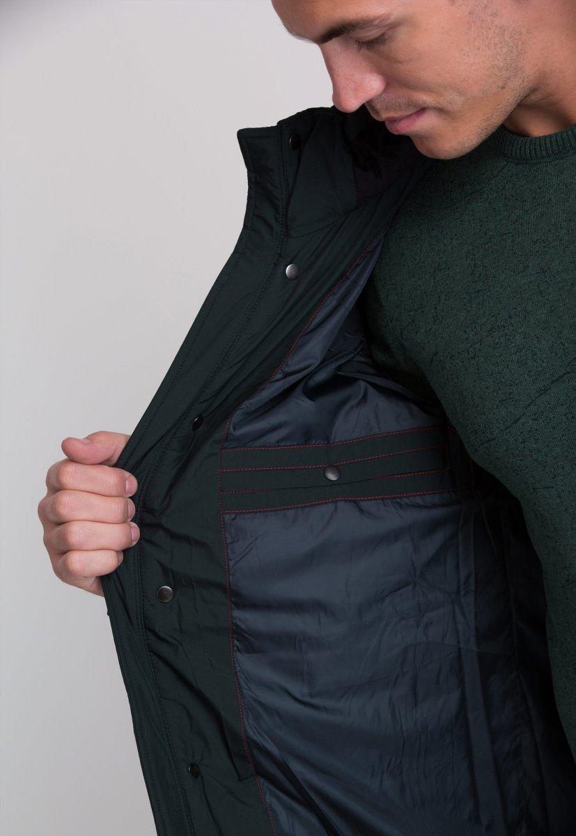 Куртка Trend Collection W09 Черный+зеленый №9 - Фото 4