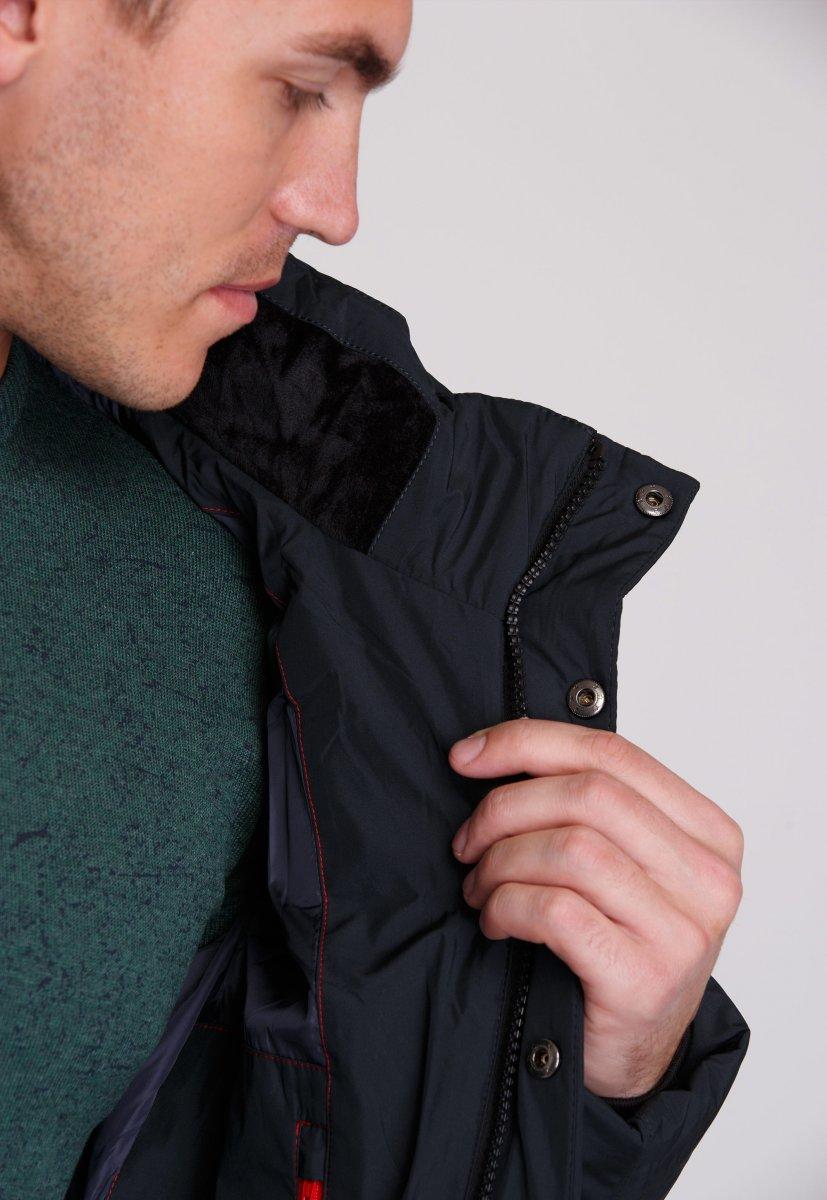 Куртка Trend Collection W09 Черный+зеленый №9 - Фото 5