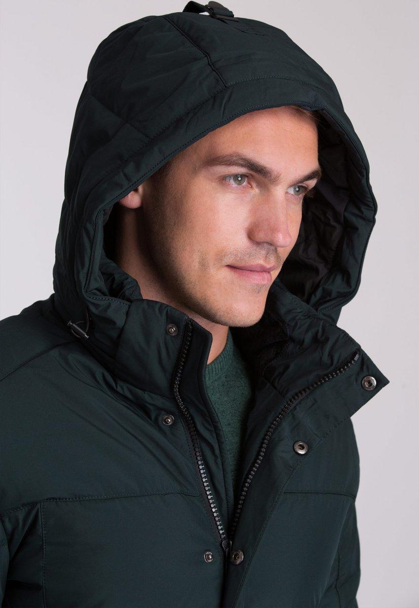 Куртка Trend Collection W09 Черный+зеленый №9 - Фото 8