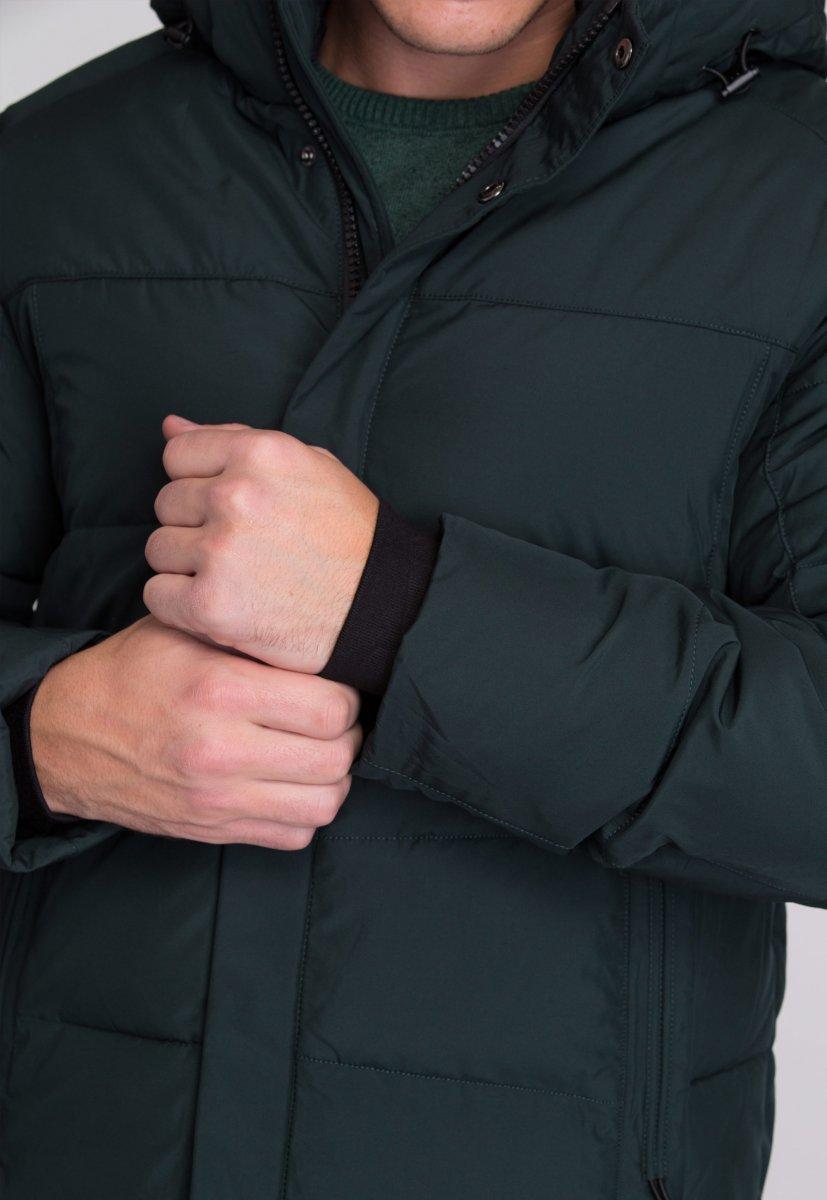 Куртка Trend Collection W09 Черный+зеленый №9 - Фото 9