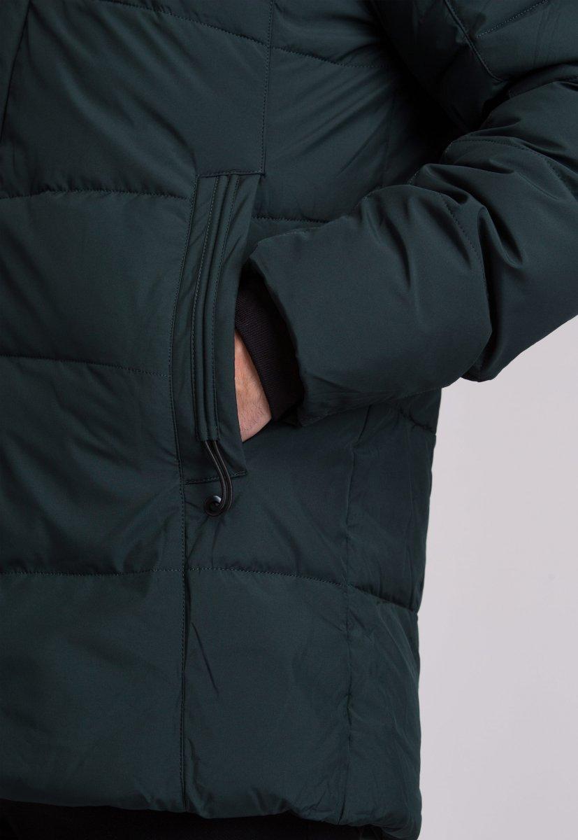 Куртка Trend Collection W09 Черный+зеленый №9 - Фото 10