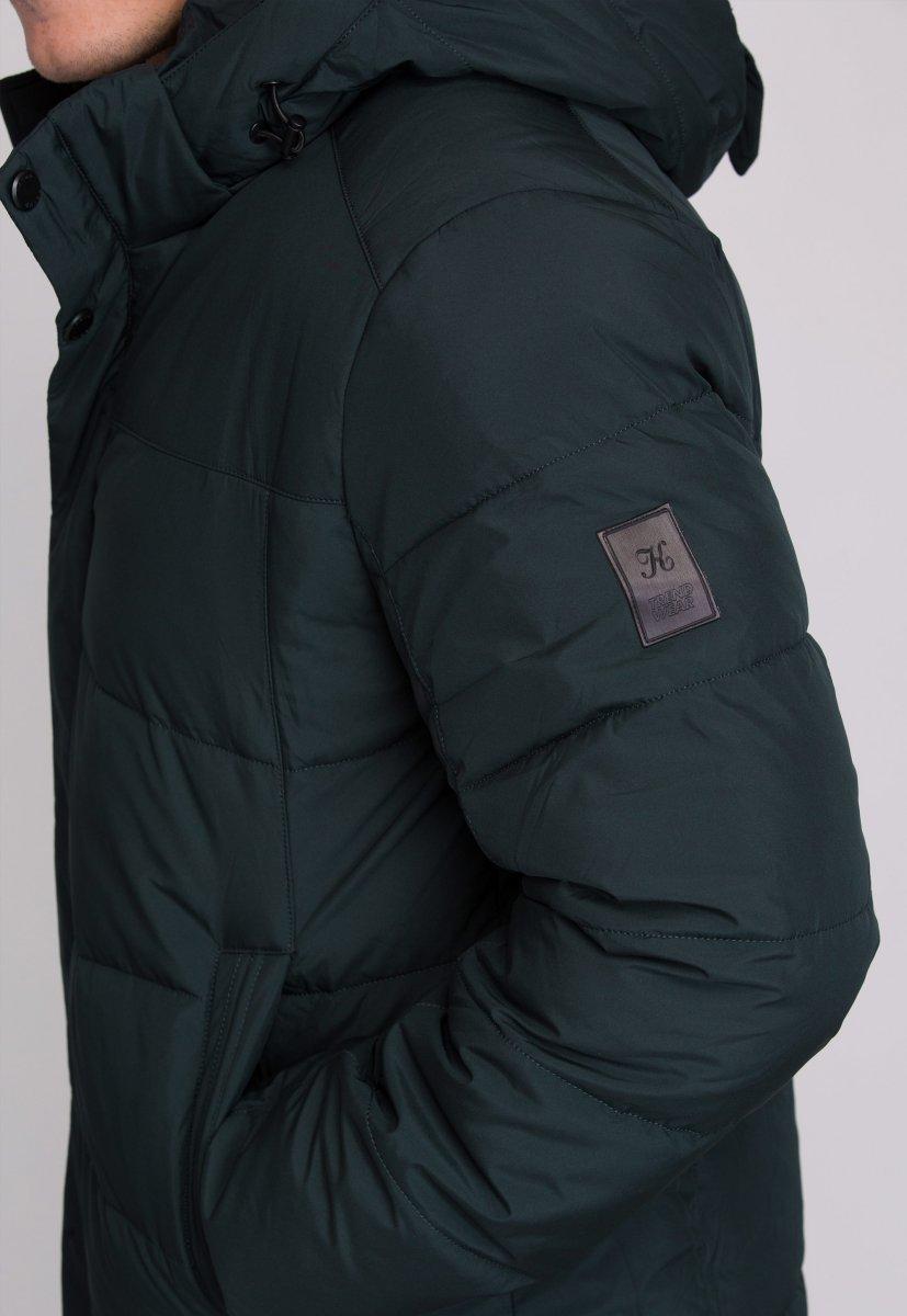 Куртка Trend Collection W09 Черный+зеленый №9 - Фото 11