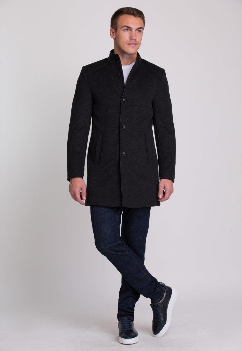 Пальто Trend Collection 515 Темно-серый - Фото