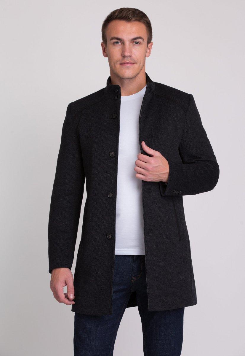 Пальто Trend Collection 515 Темно-серый - Фото 1