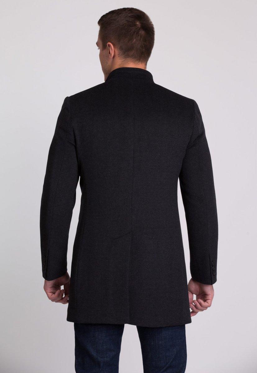 Пальто Trend Collection 515 Темно-серый - Фото 2