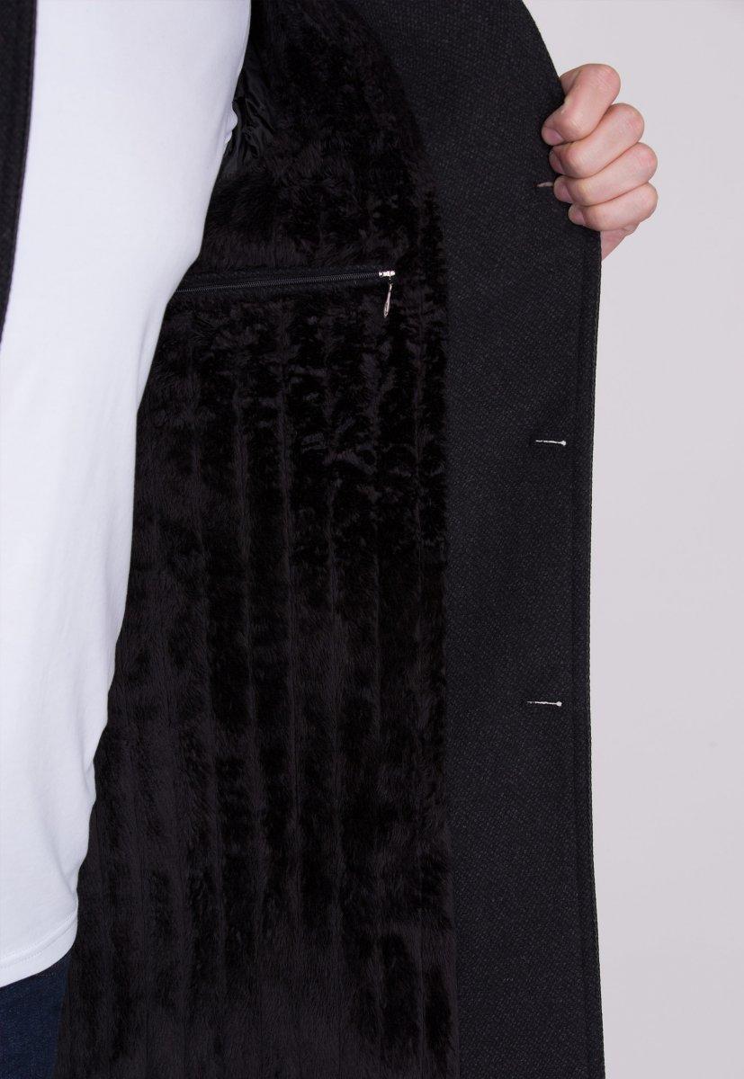 Пальто Trend Collection 515 Темно-серый - Фото 4