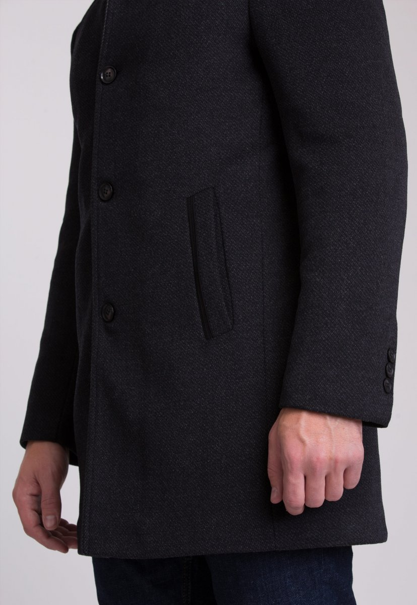 Пальто Trend Collection 515 Темно-серый - Фото 6