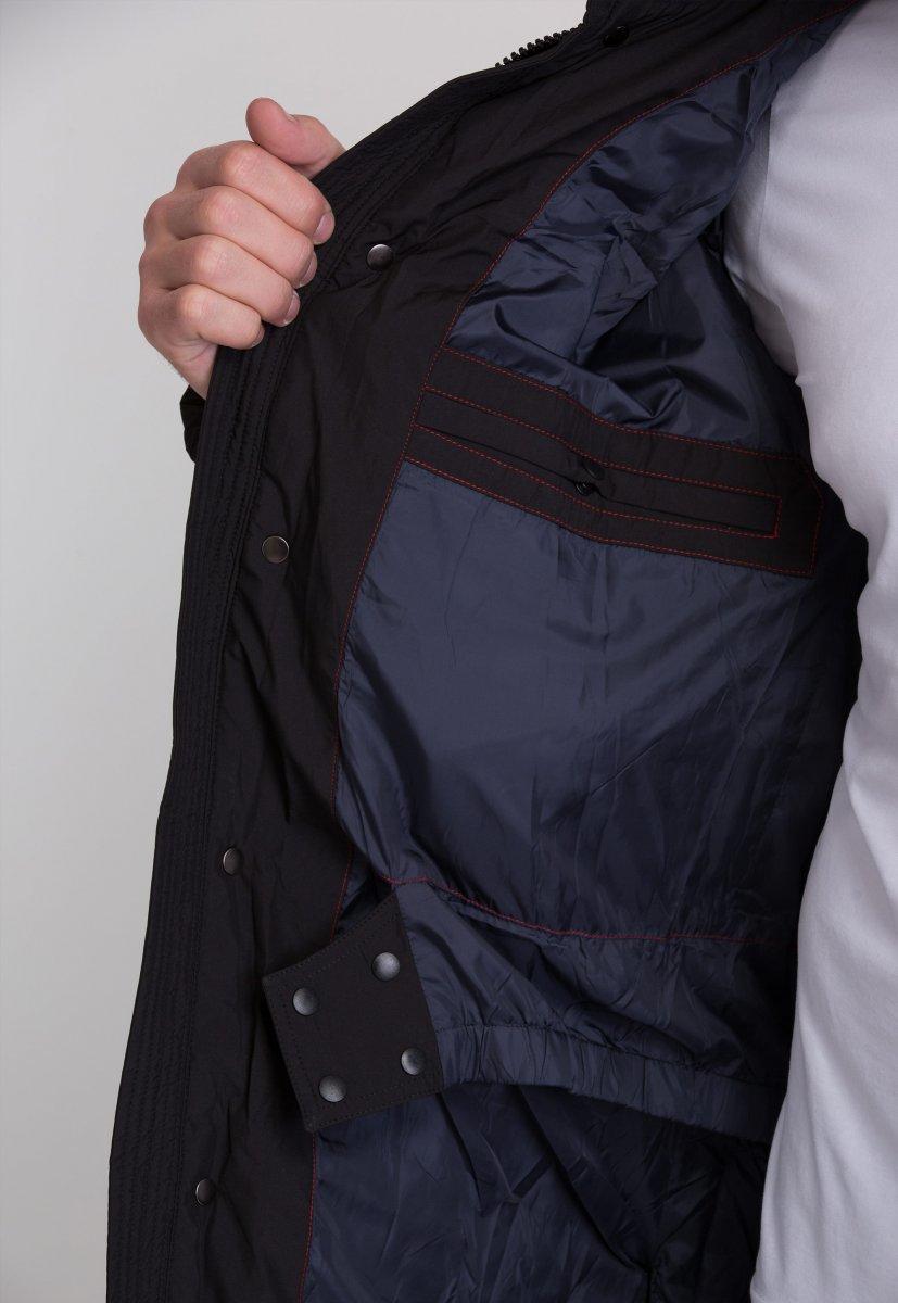 Куртка Trend Collection W39 Черный №1 - Фото 5