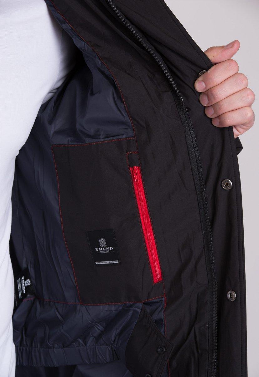 Куртка Trend Collection W39 Черный №1 - Фото 6