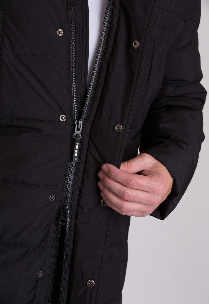 Куртка Trend Collection W39 Черный №1 - Фото 7