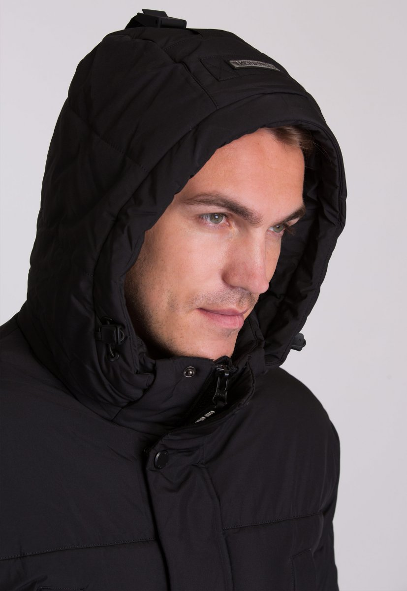 Куртка Trend Collection W39 Черный №1 - Фото 9
