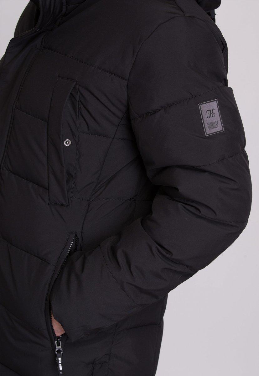 Куртка Trend Collection W39 Черный №1 - Фото 11
