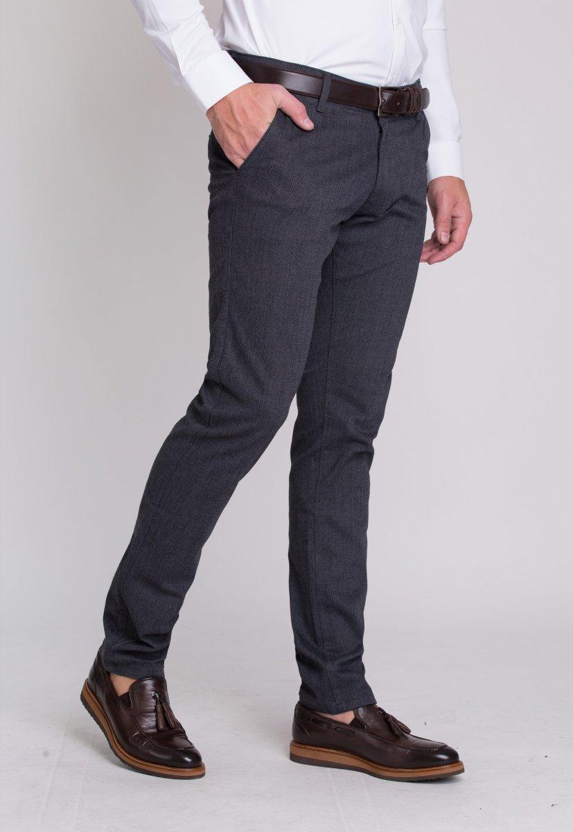 Брюки Trend Collection 12670 Синий+серый (LACI) - Фото