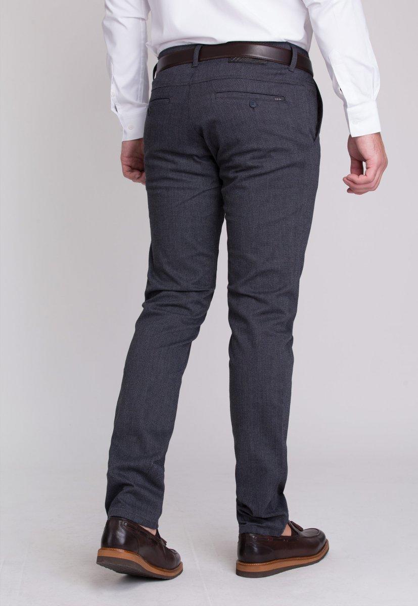Брюки Trend Collection 12670 Синий+серый (LACI) - Фото 2