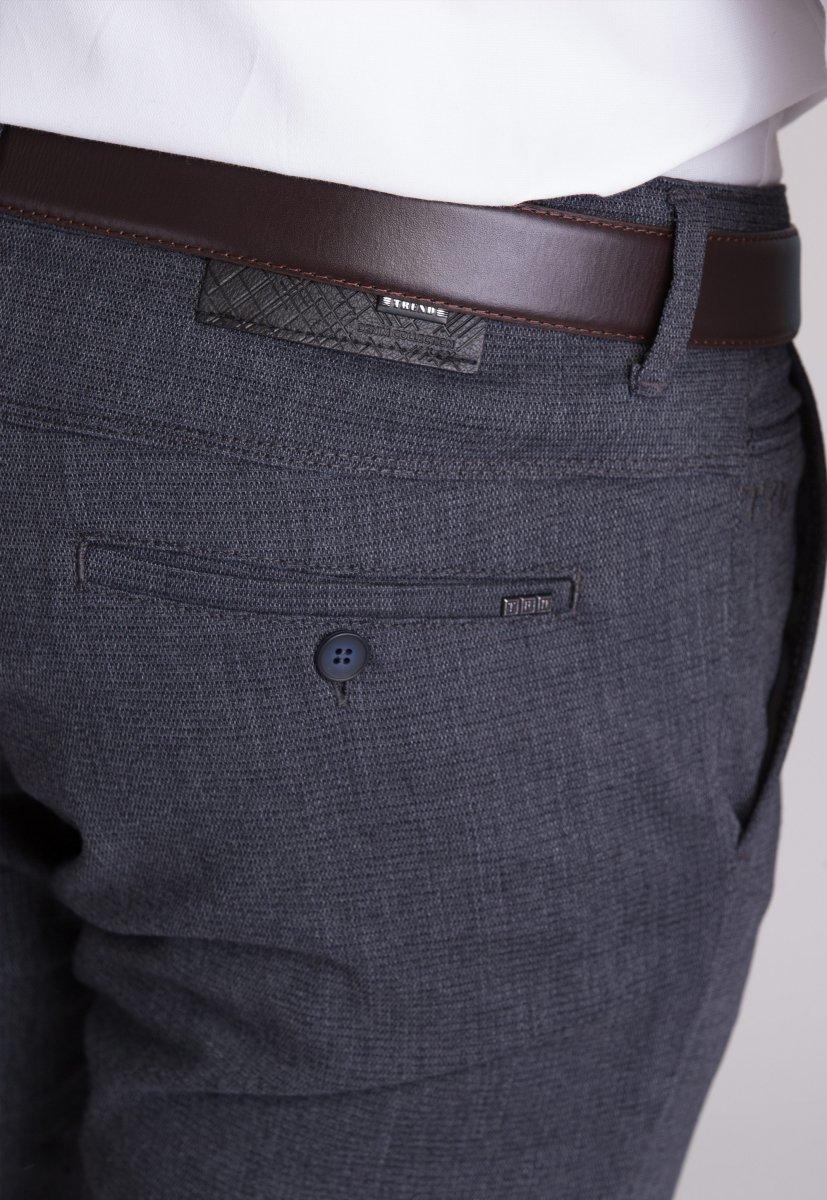Брюки Trend Collection 12670 Синий+серый (LACI) - Фото 3