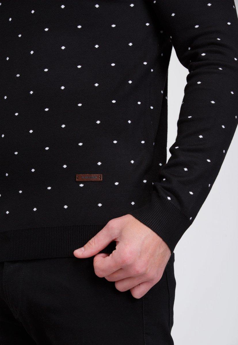Свитер мужской Trend Collection 9673 Черный - Фото 1