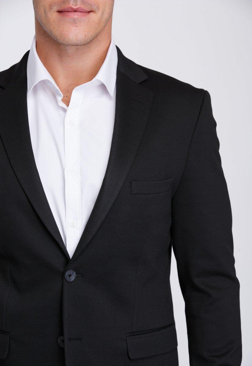 Пиджак Trend Collection 2031 Черный - Фото 4