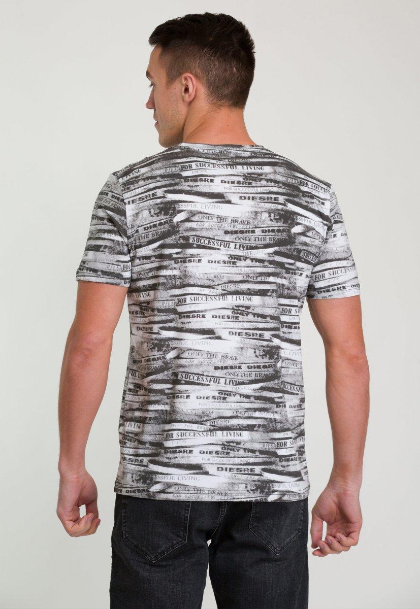 Футболка Trend Collection 8014 Черный+белый - Фото