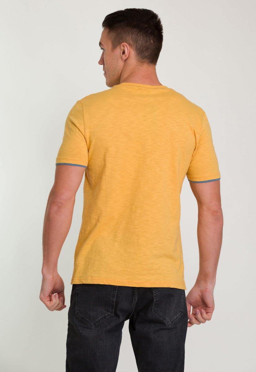Футболка Trend Collection 8062 Оранж+треугольник - Фото 1