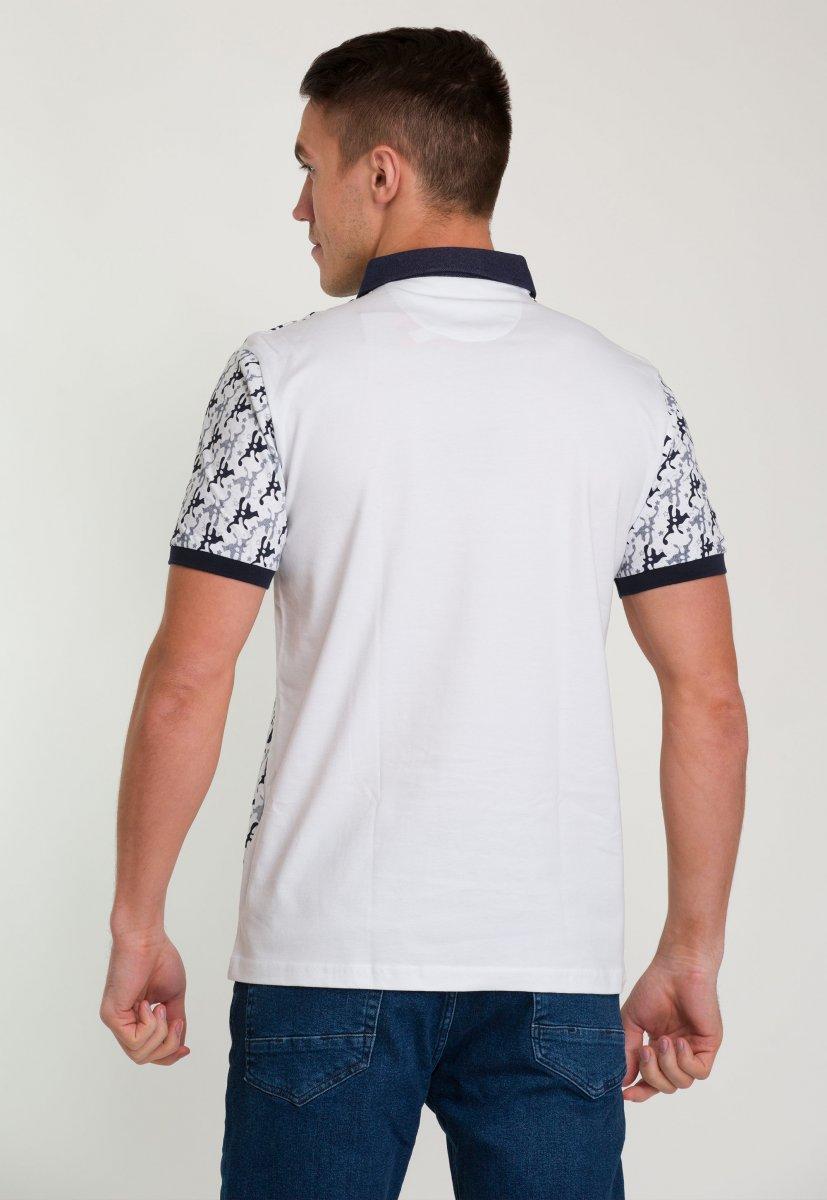 Футболка Trend Collection 009 Белый + принт - Фото