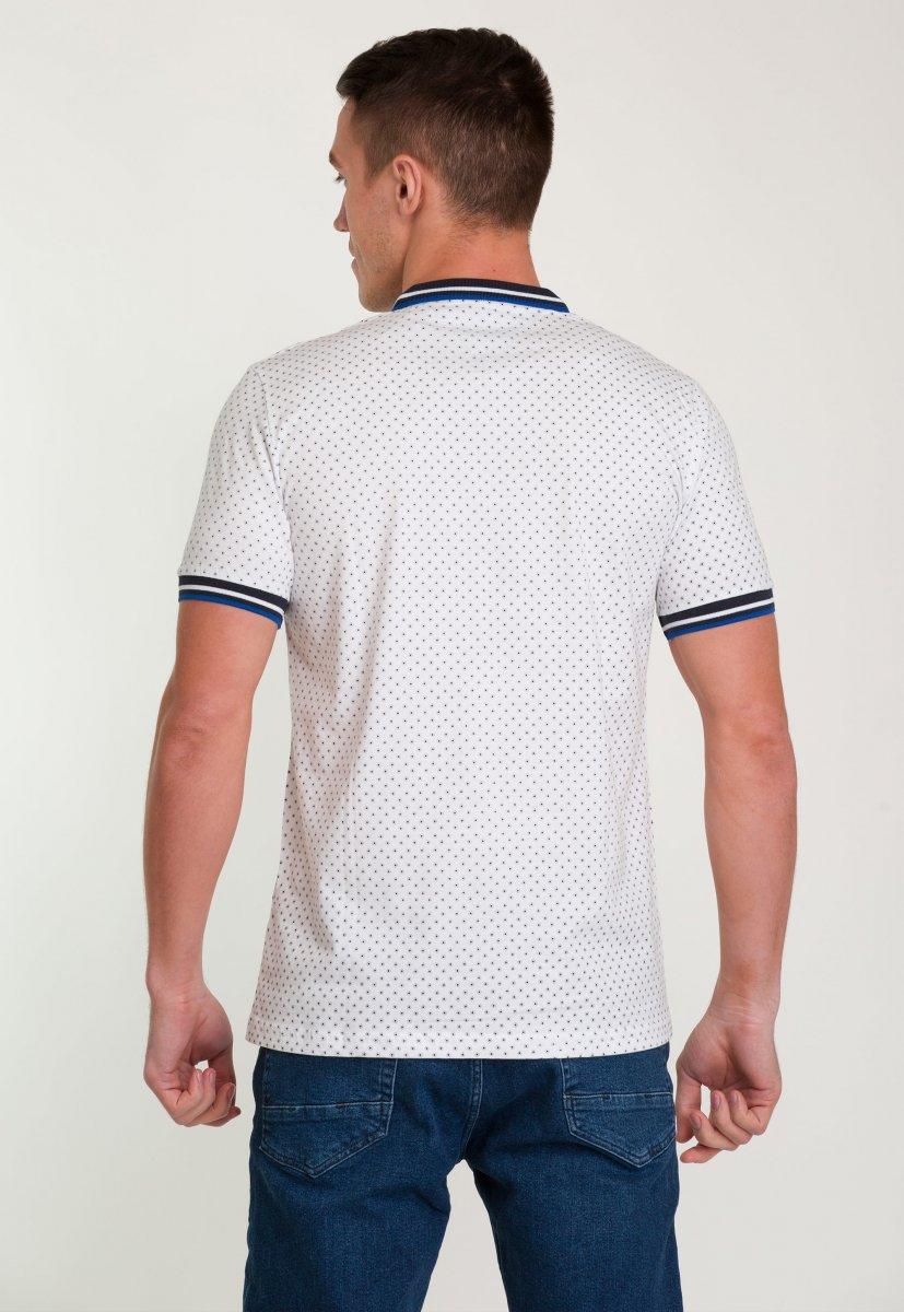 Футболка Trend Collection 001 Белый + круг - Фото