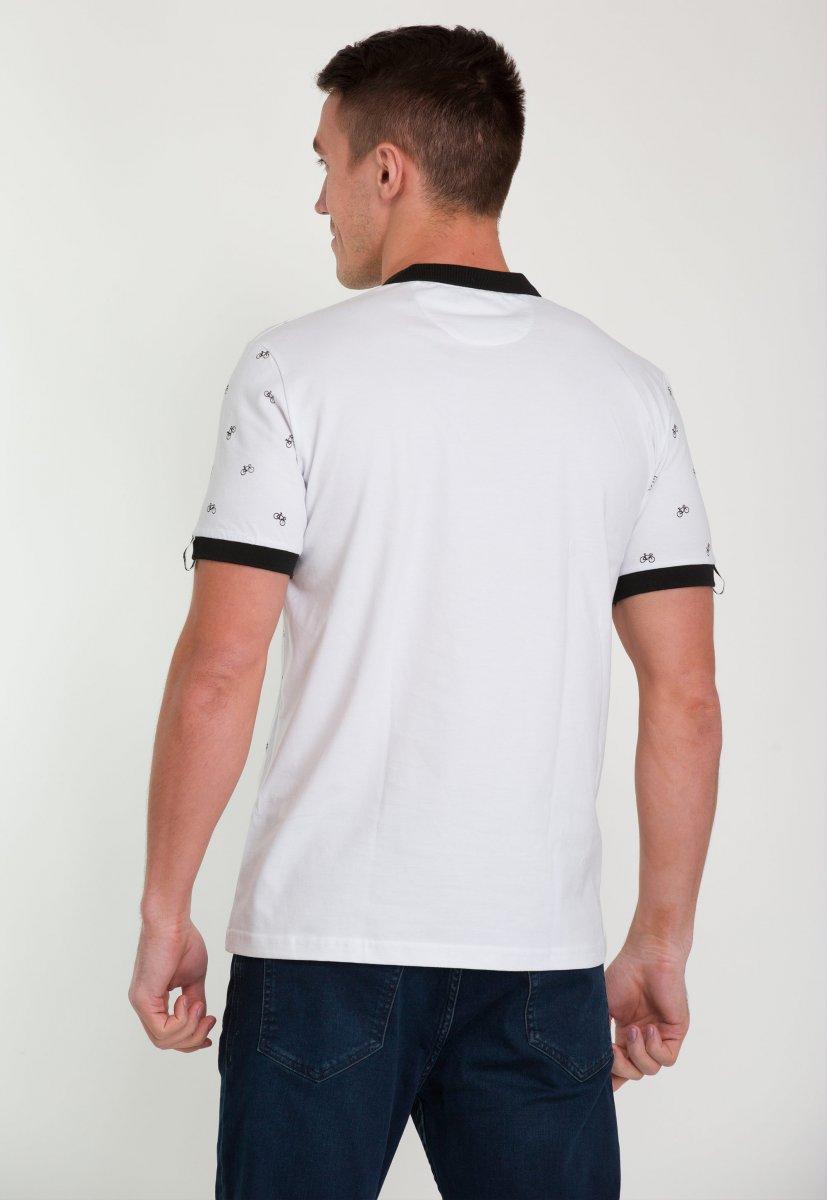Футболка Trend Collection 006 Белый + велосипеды - Фото 1