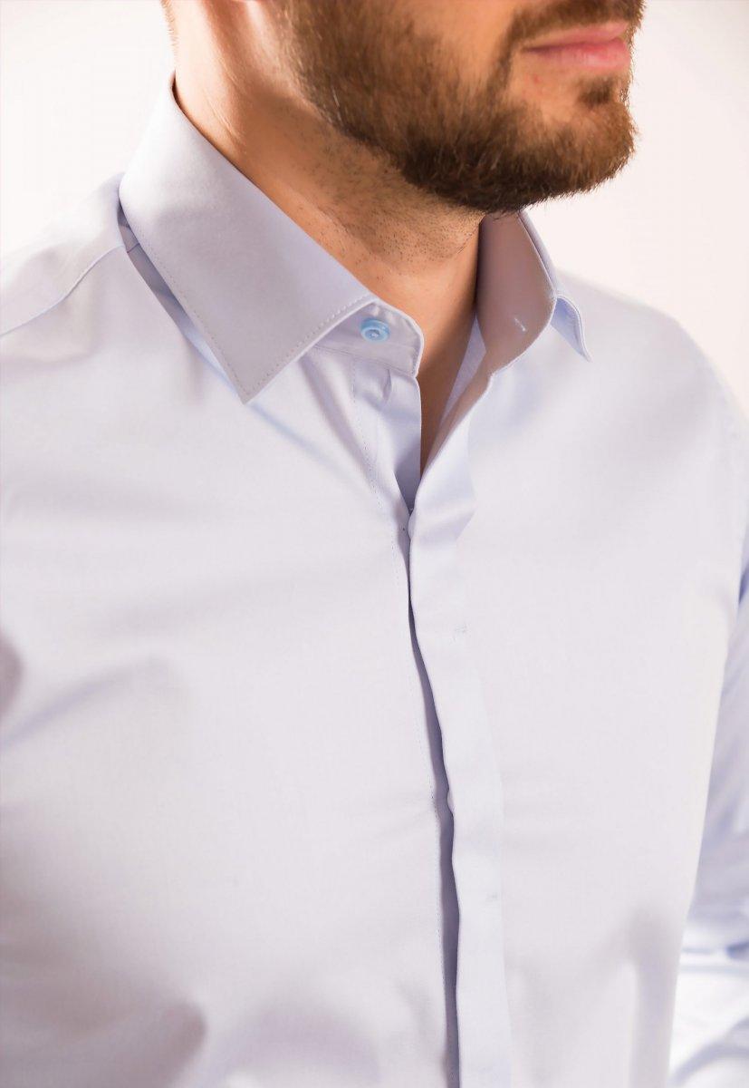 Рубашка TREND BAT 02-308 Небесный - Фото 1