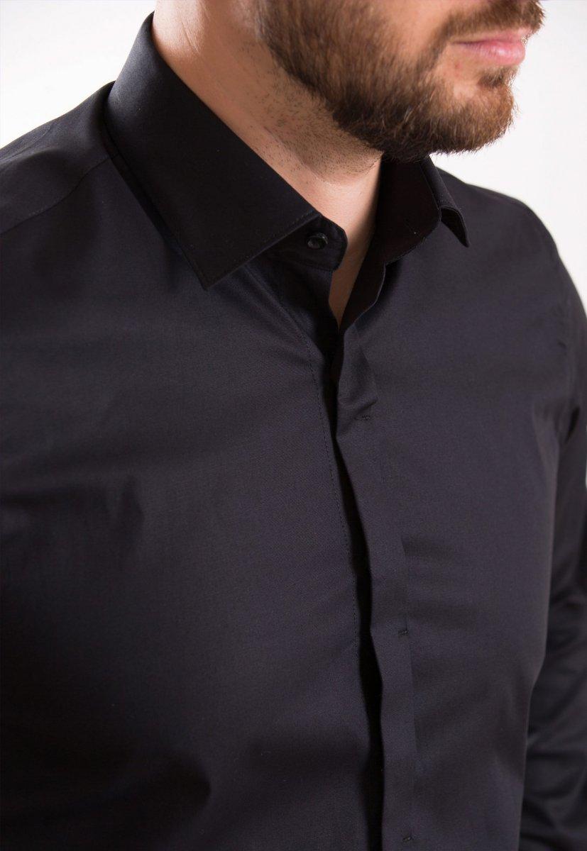 Рубашка TREND BAT 02-308 Черный - Фото