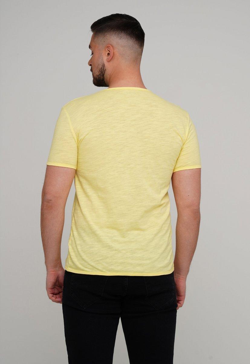 Футболка Trend Collection 037-1 Желтый - Фото