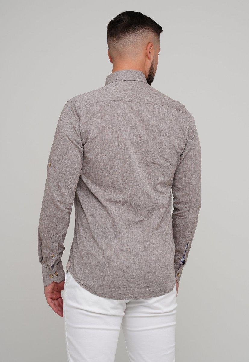 Рубашка Trend Collection 02-1001-1 Бежевый - Фото