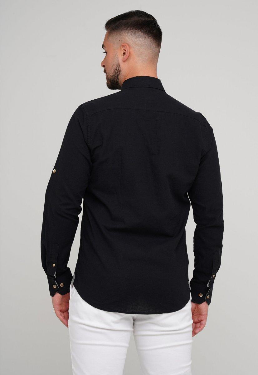Рубашка Trend Collection 02-1001-1 Черный - Фото