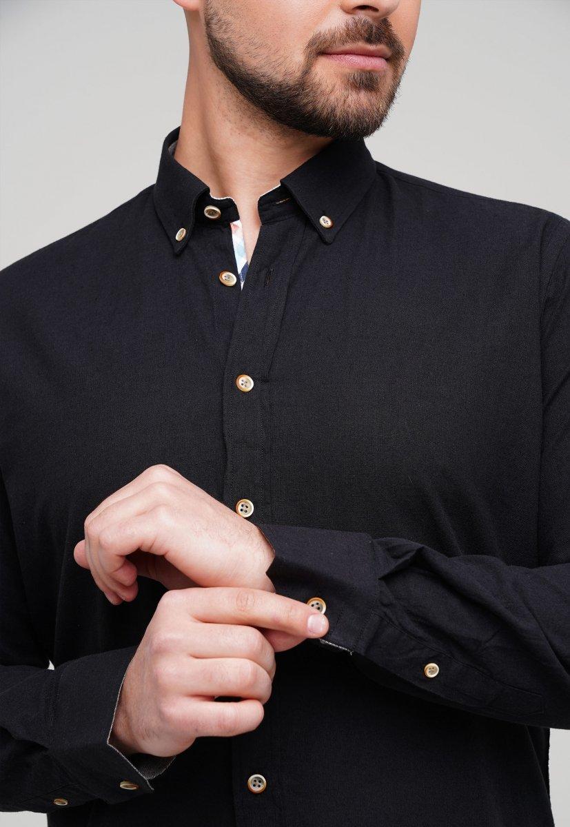 Рубашка Trend Collection 02-1001-1 Черный - Фото 1