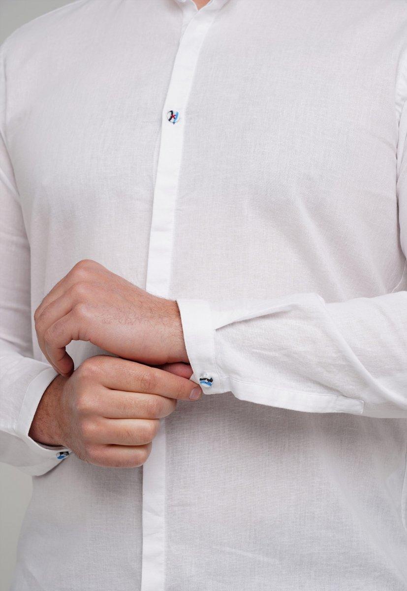 Рубашка Trend Collection 02-154 Белый - Фото 1