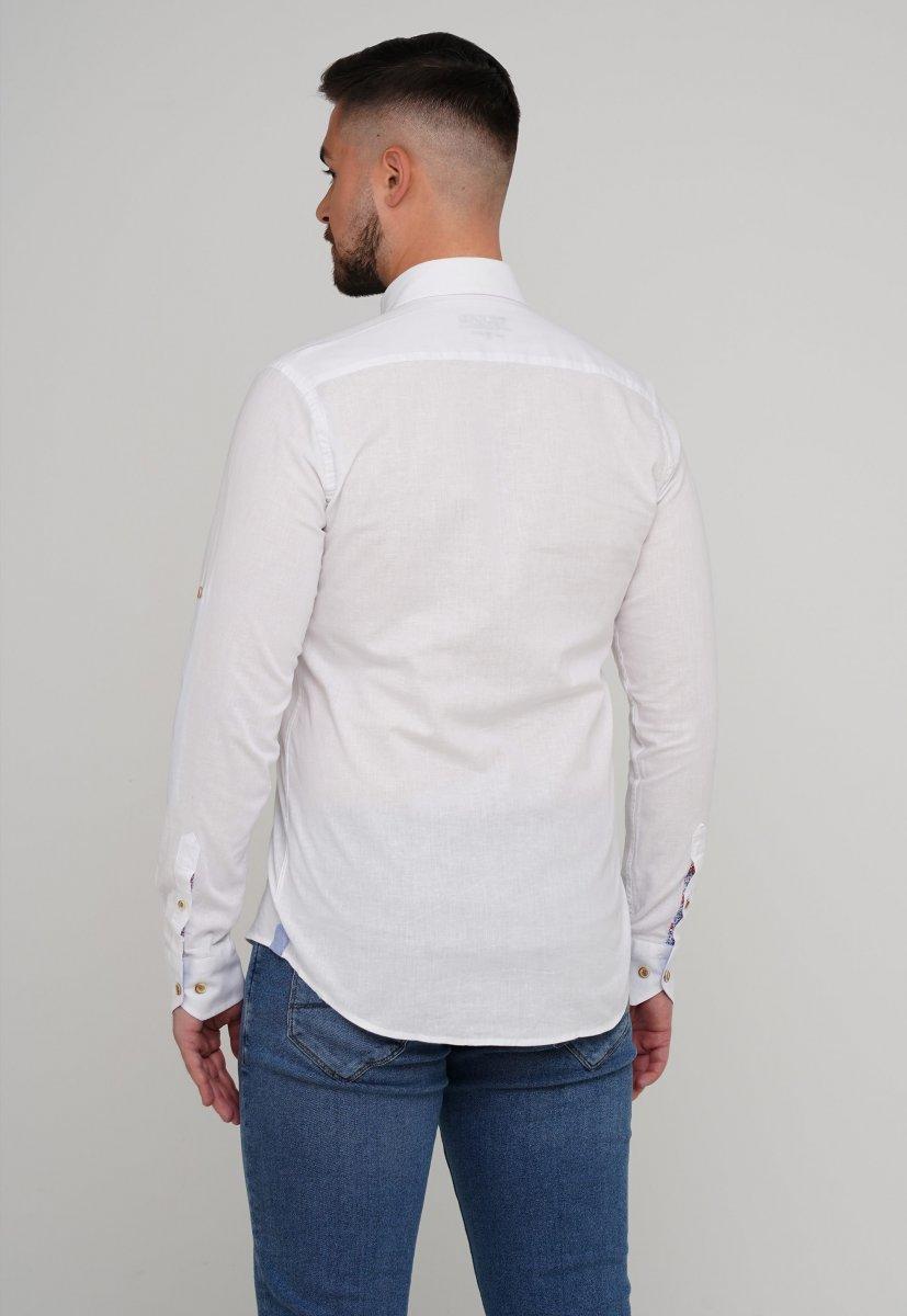 Рубашка Trend Collection 02-1001-1 Белый - Фото