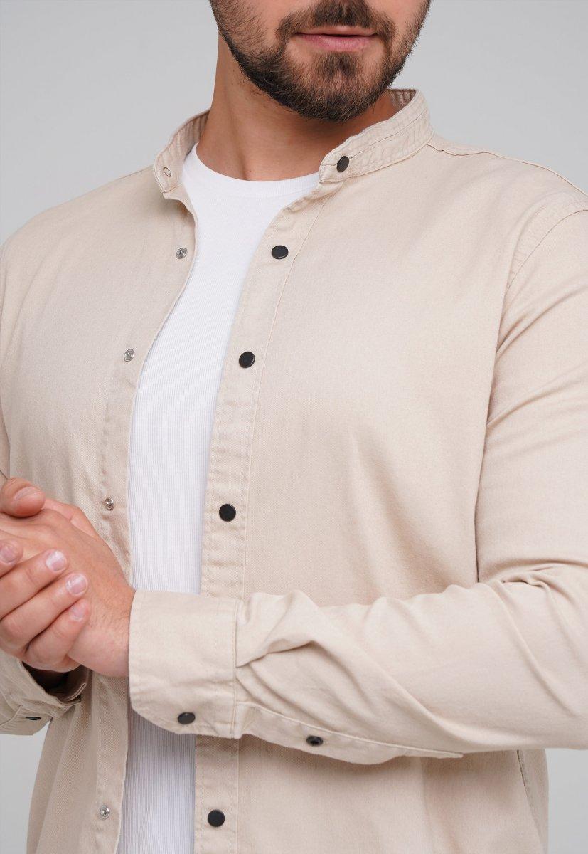 Рубашка FIGO 18127 бежевый - Фото 1