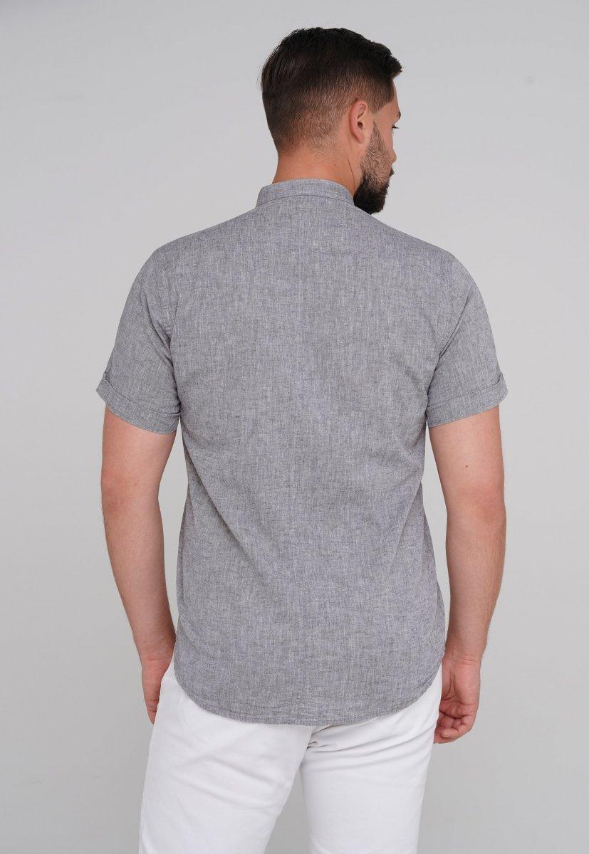 Рубашка Trend Collection 6002-1 серый - Фото