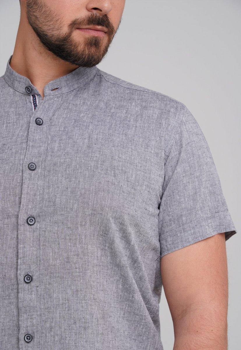 Рубашка Trend Collection 6002-1 серый - Фото 1