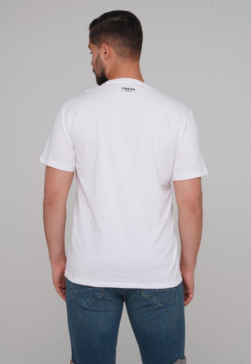 Футболка Trend Collection 99009 Белый+буквы - Фото