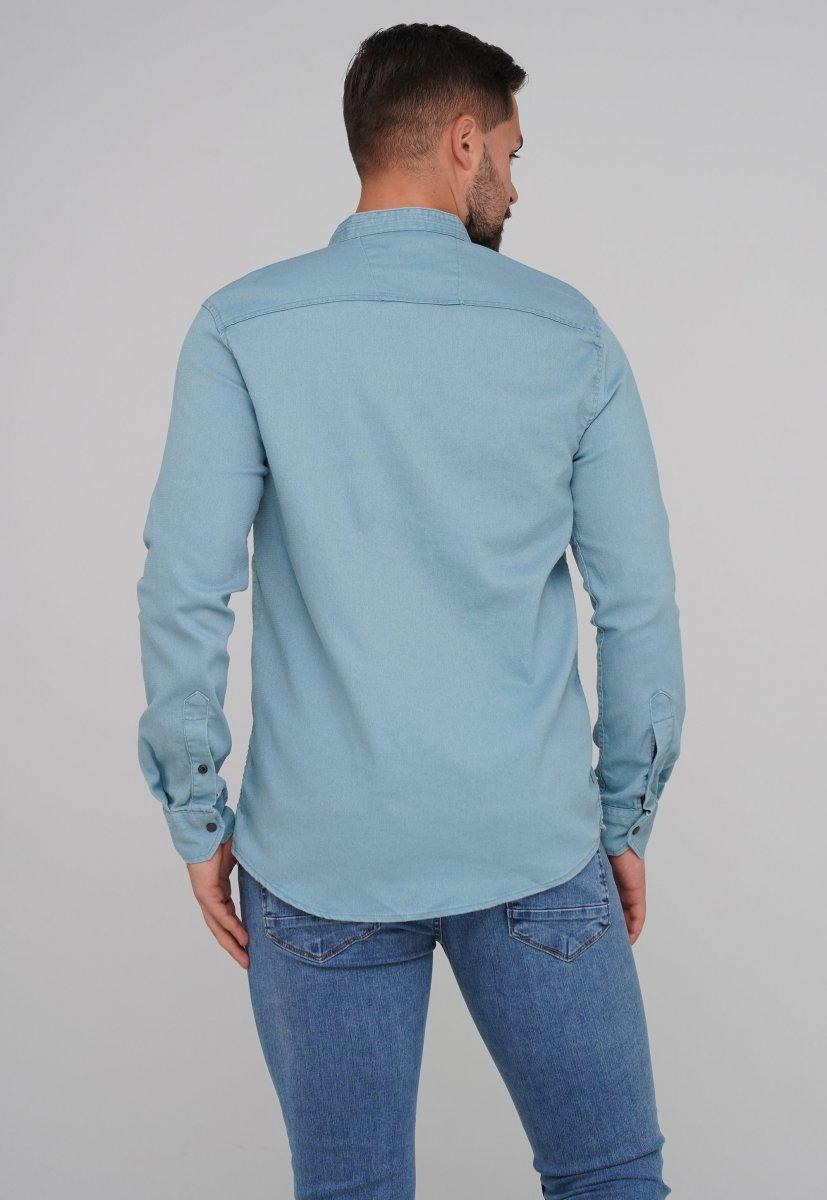 Рубашка FIGO 18127 фисташковый - Фото 1