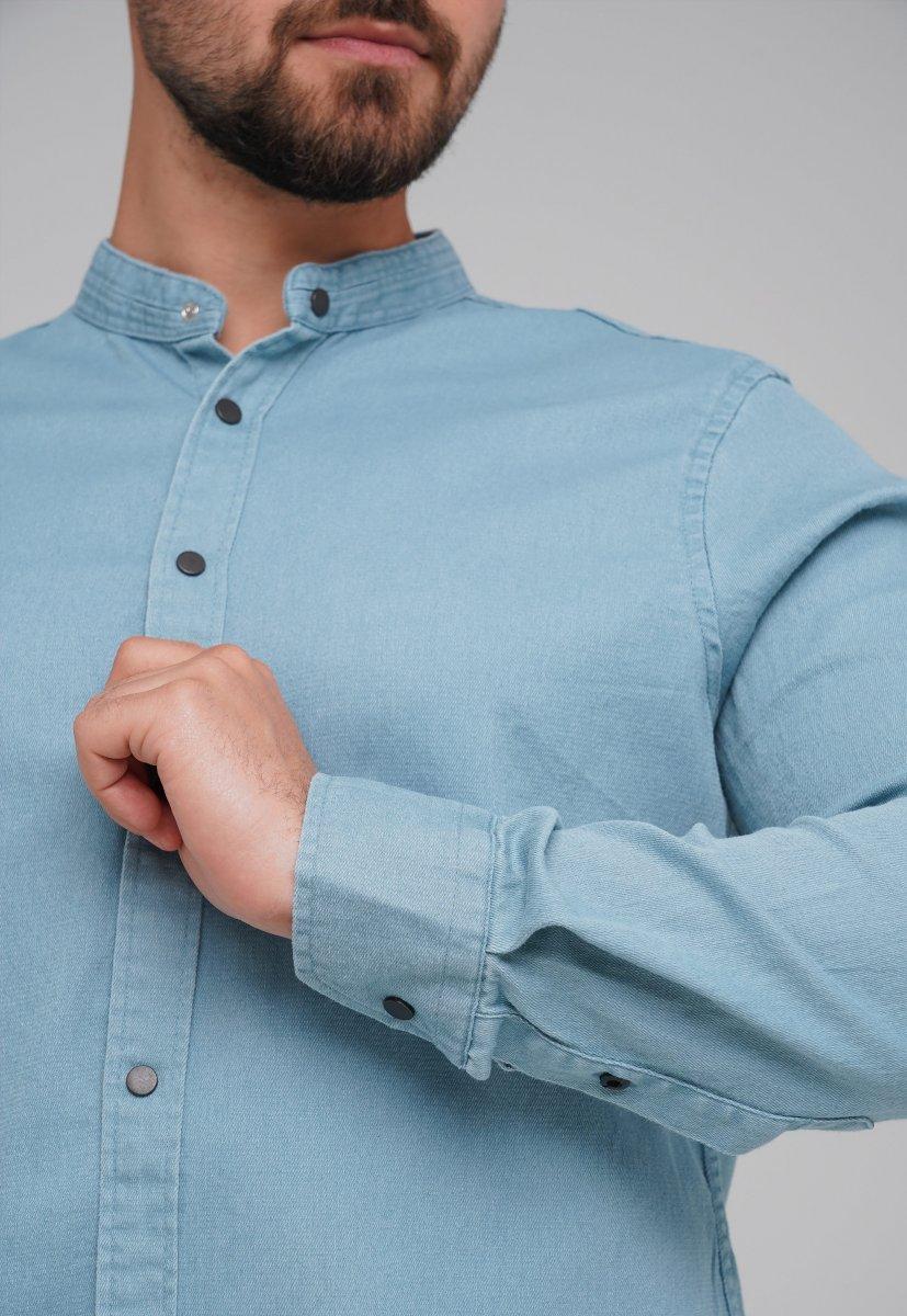 Рубашка FIGO 18127 фисташковый - Фото 3