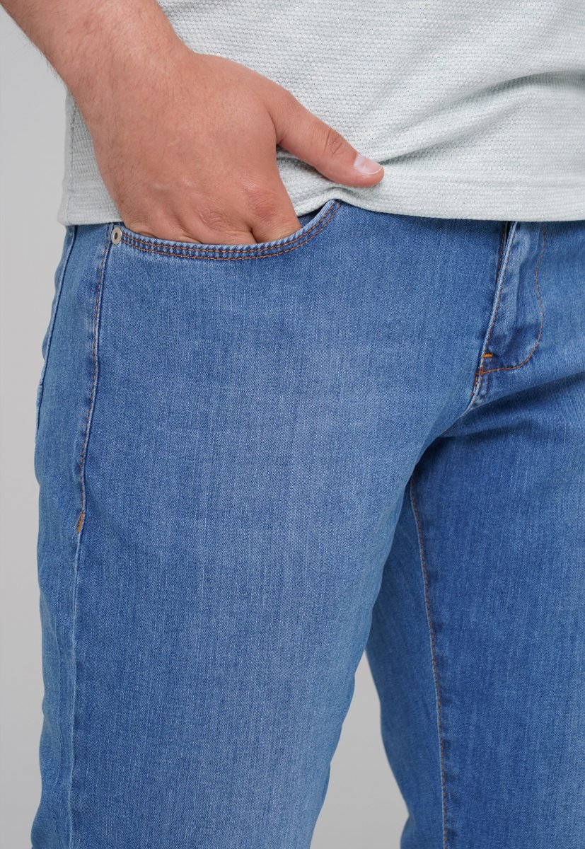 Джинсы Trend Collection 21-630 Светло-синий - Фото