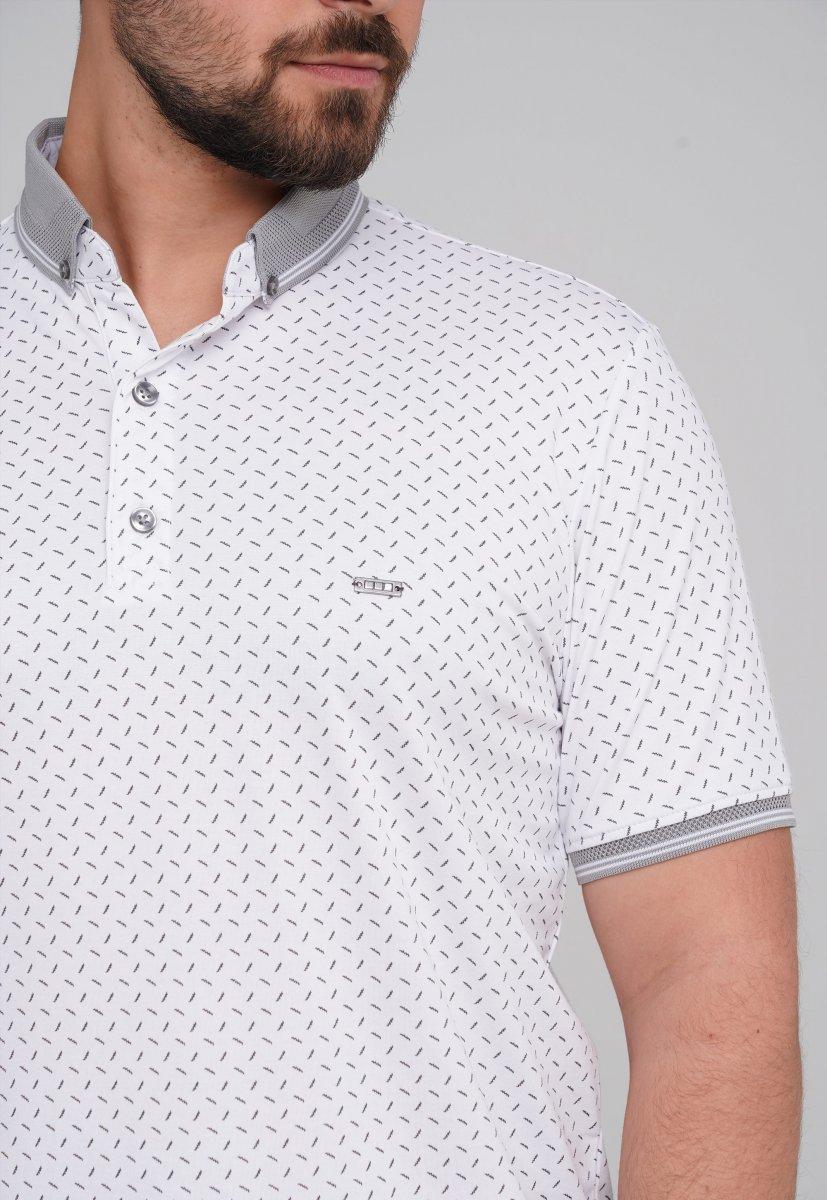 Футболка Trend Collection 21Y-216 (Regular Fit) Белый (BEYAZ) - Фото