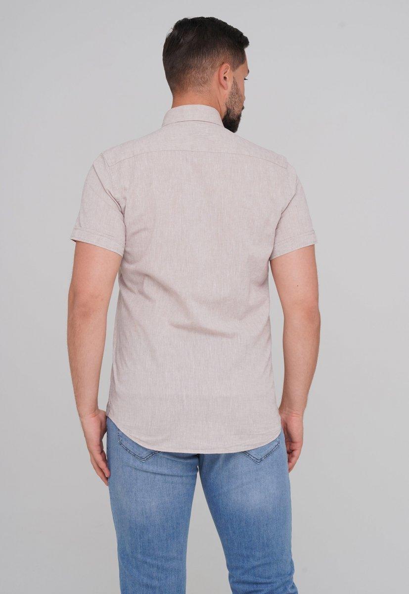 Рубашка Trend Collection 6001-1 бежевый - Фото 1