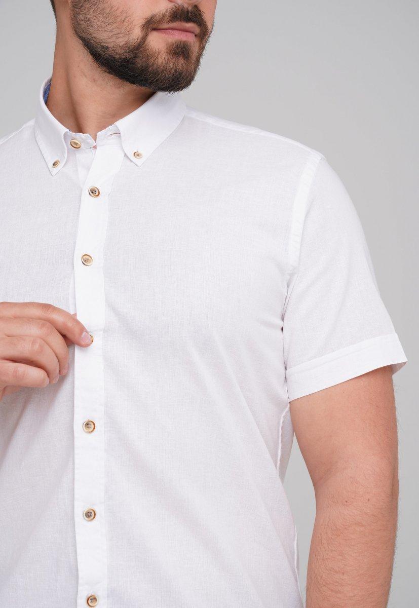Рубашка Trend Collection 6001-1 Белый - Фото 1