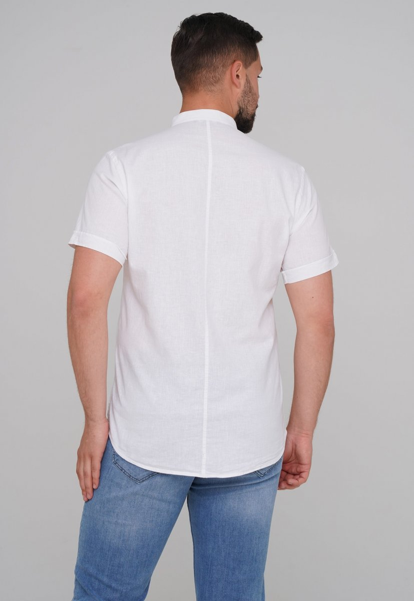 Рубашка Trend Collection 6002-1 Белый - Фото