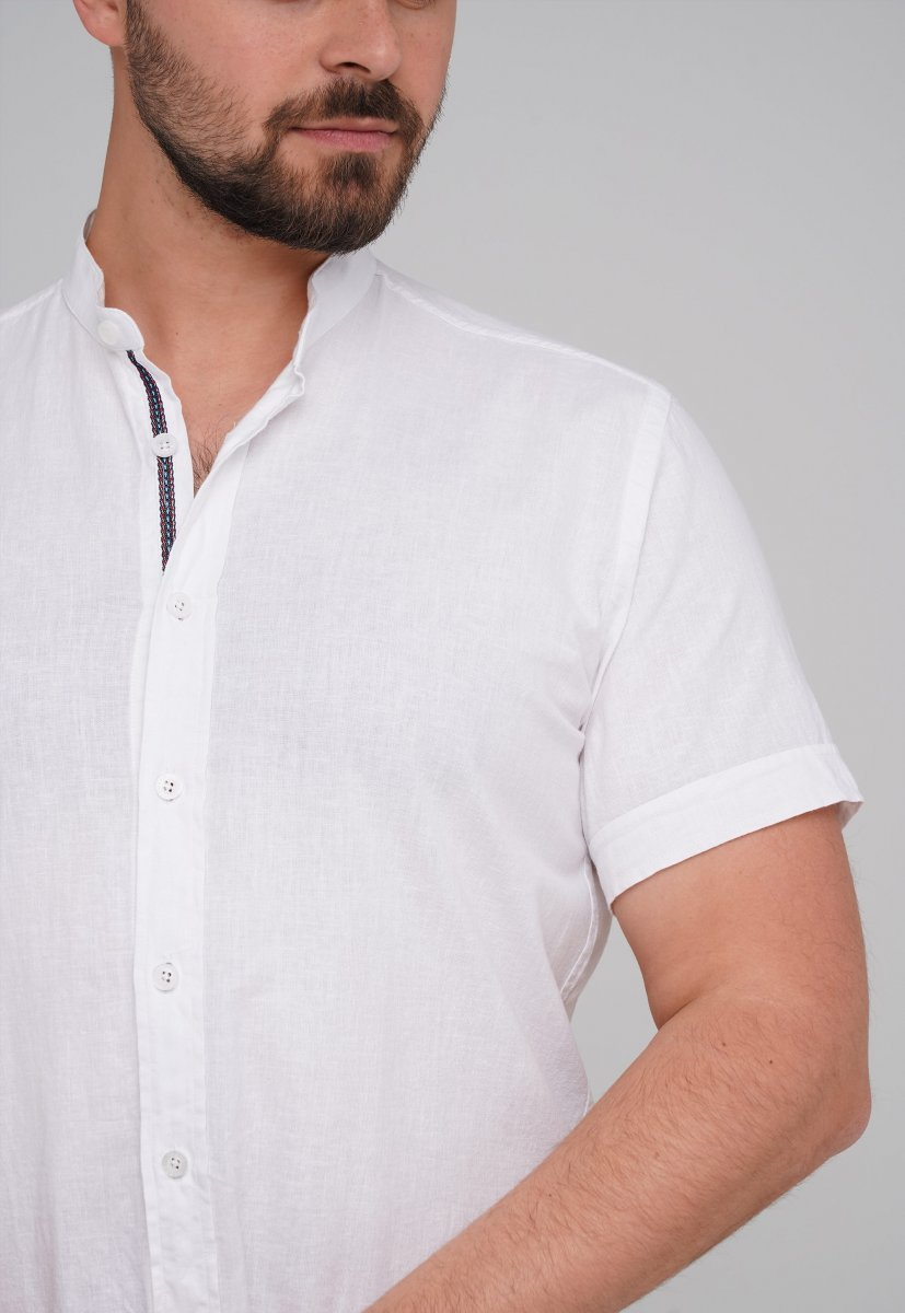Рубашка Trend Collection 6002-1 Белый - Фото 1