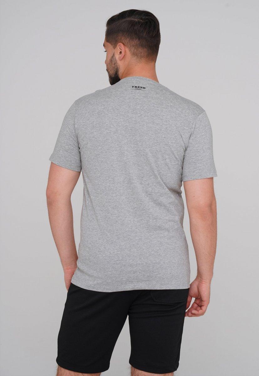 Футболка Trend Collection 99010 Серый - Фото 1