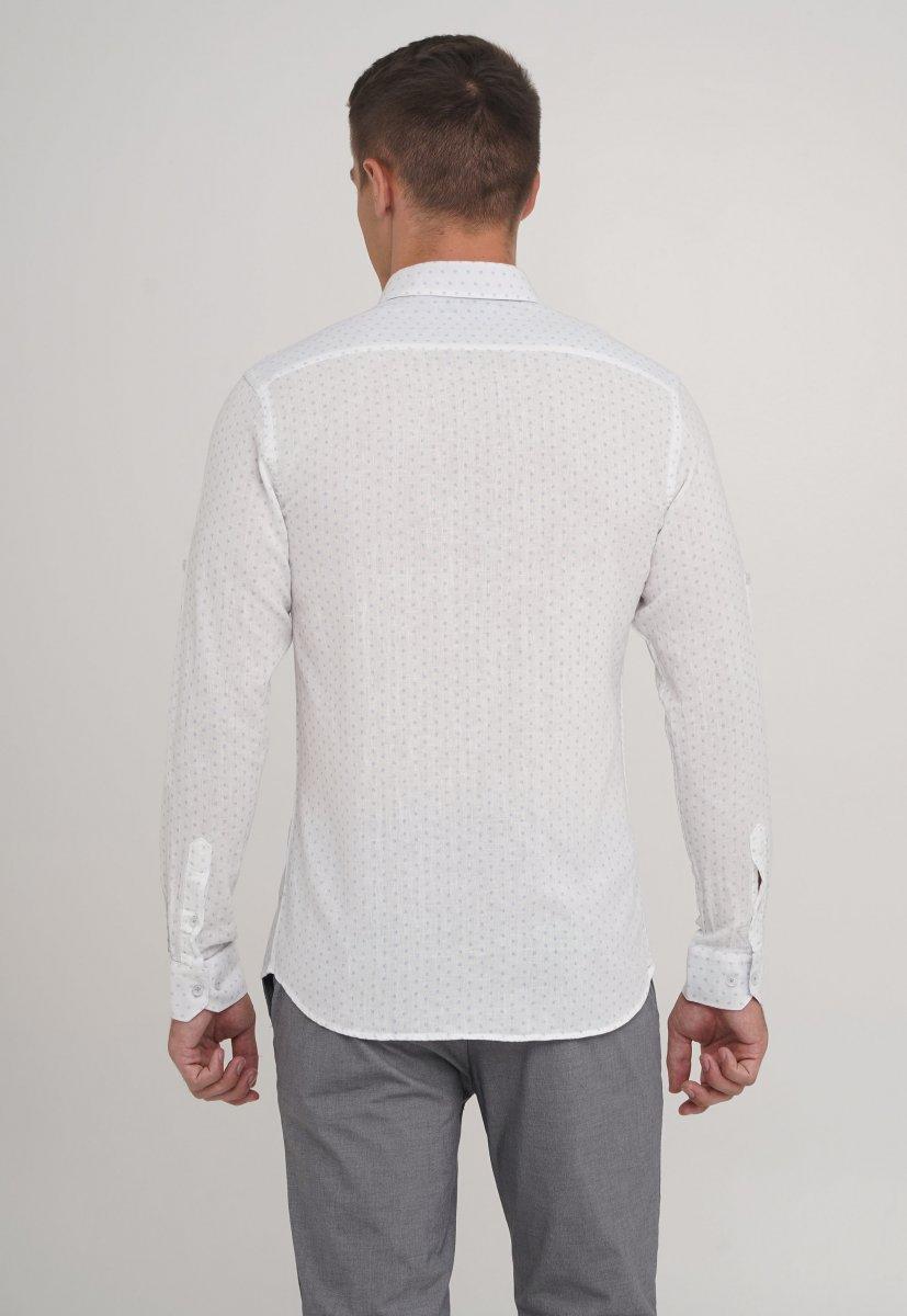 Рубашка Trend Collection 20069-06 Белый+звездочка - Фото 1