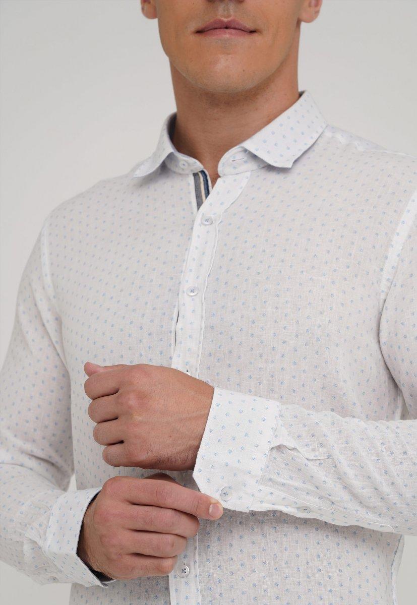 Рубашка Trend Collection 20069-06 Белый+звездочка - Фото 2