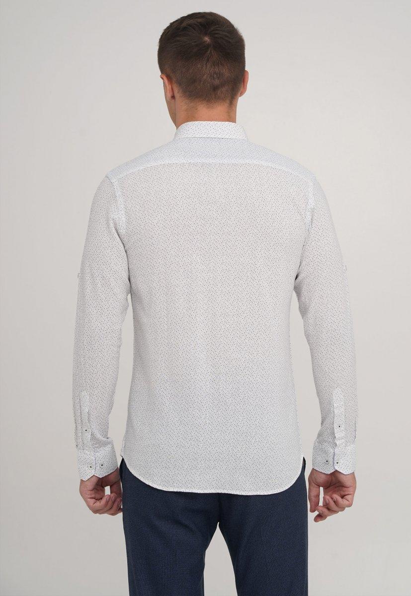 Рубашка Trend Collection 20070-06 Белый+галочка - Фото 1